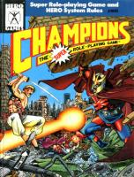 Cover CHAMPIONS von HERO Systems