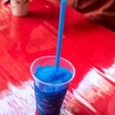 blaurotes Stillleben