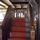 hölzerne Treppe
