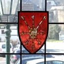 Wappen im Butzenfenster