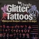 Glitter-Tattoos (halten mehrere Tage)