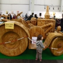 Lanz Bulldog - aus Holz!