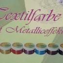 Metallic-Textikfarben
