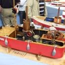 Dampfboot mit Antriebsrad