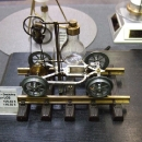 Miniatur-Dampfdraisine