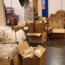 Auspacken mach Müll
