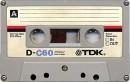 TDK C60 Cassette