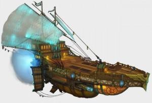 Schiff der Liga