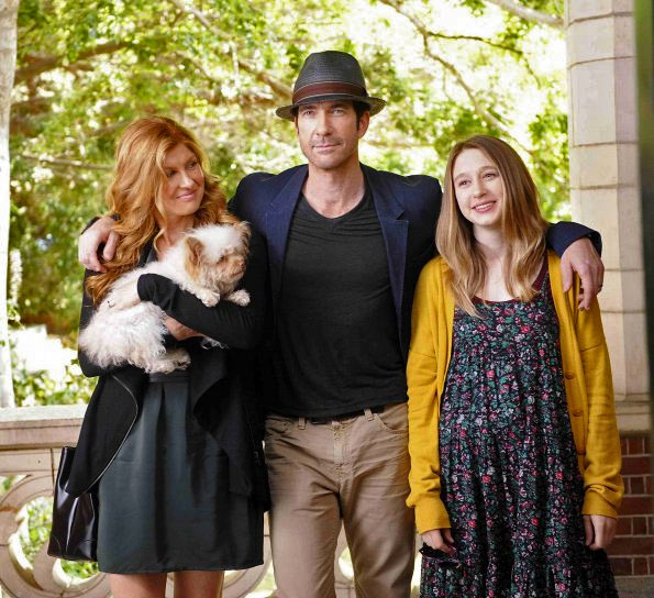 Connie Britton, Dylan McDermott, Taissa Farmiga