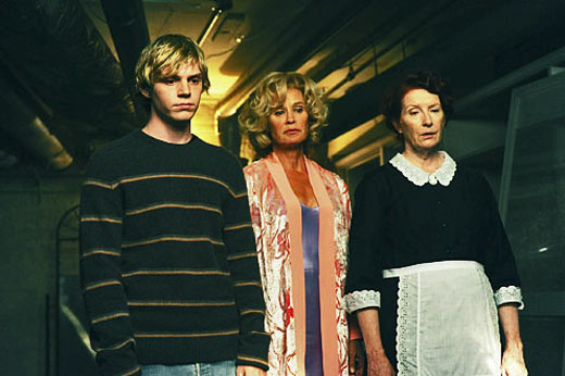 Evan Peters, Jessica Lange, Frances Conroy