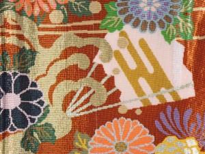 Kimono Detailansicht