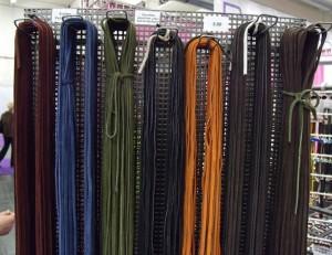 Velourslederbänder, verschiedene Farben