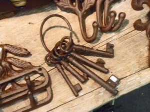 gewandungstaugliche Schlüssel im Rost-Look