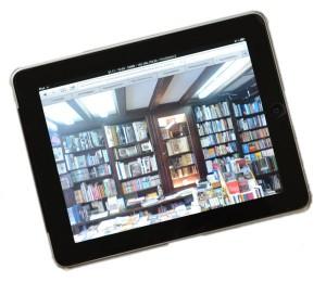 Buchhandlung auf iPad