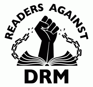 Logo Readers Against DRM