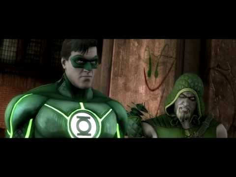 INJUSTICE: GODS AMONG US – GREEN LANTERN-Trailer