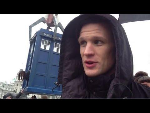 Der Doctor auf dem Trafalgar Square