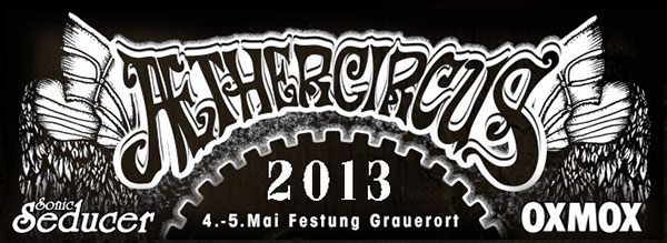 AetherCircus 2013 am 4. und 5. Mai in Stade