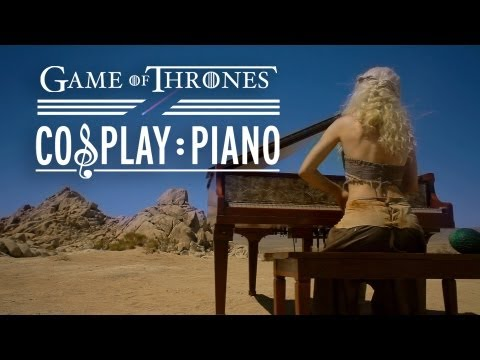 Musikvideo: GAME OF THRONES Cosplay Piano