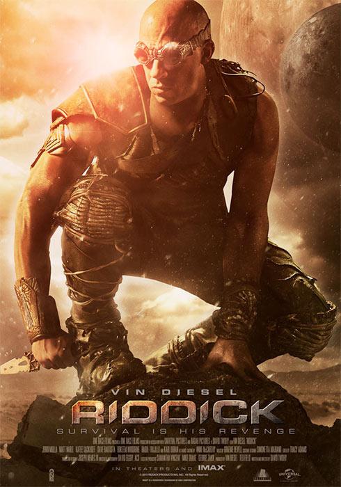 Promoposter Riddick