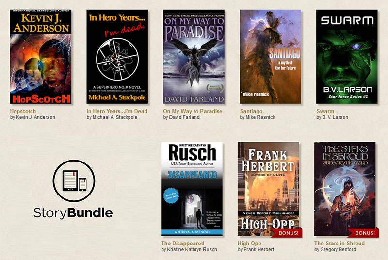 Noch mehr eBooks: das StoryBundle Science Fiction-Paket