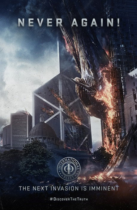 Propaganda-Poster zu ENDER´S GAME