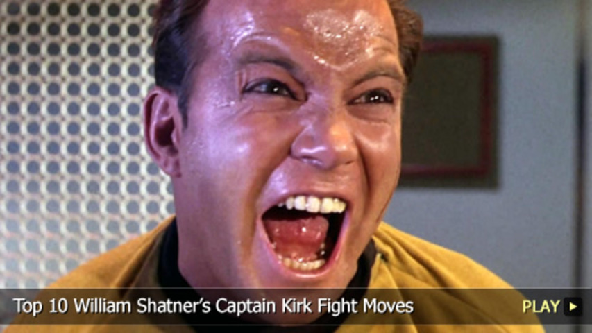 Captain Kirk´s Top Ten Fight Moves