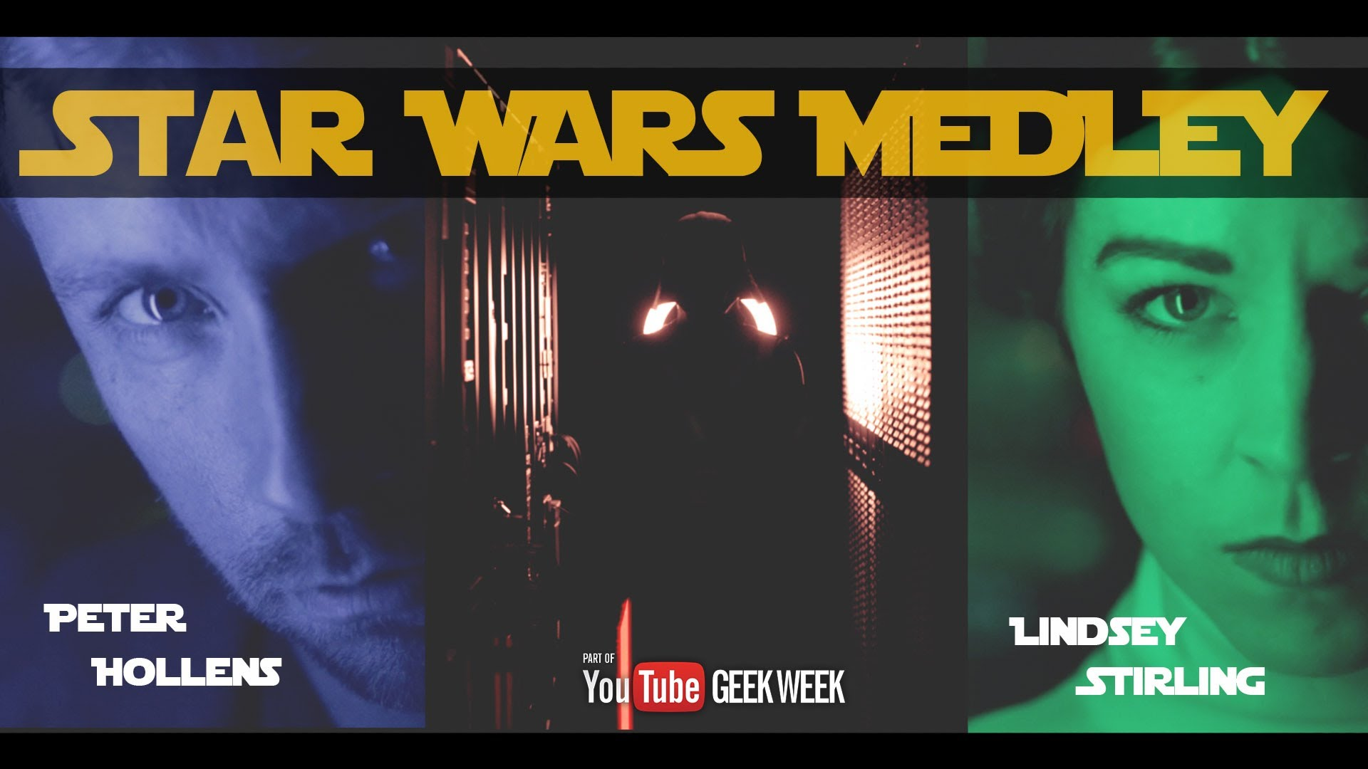 Na endlich! Lindsey Stirling & Peter Hollens: STAR WARS Medley