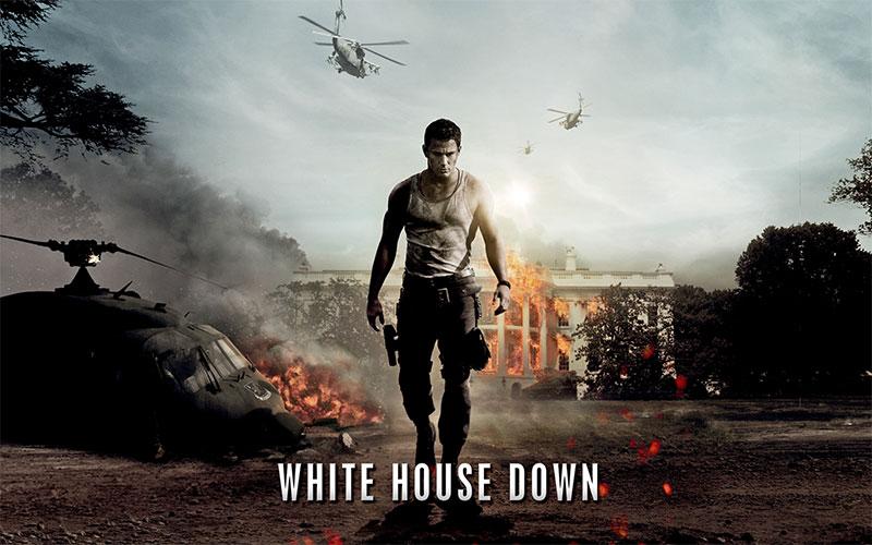 WHITE HOUSE DOWN geht unter