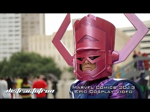 Distractotron: Marvel Comics 2013 Cosplay Video