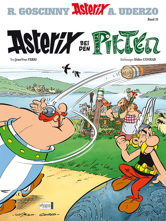 Cover: ASTERIX BEI DEN PIKTEN