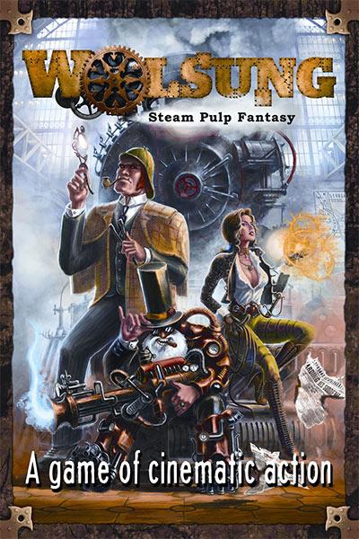 WOLSUNG – »Steam Pulp« als Rollenspiel, Tabletop und Brettspiel