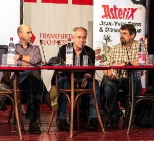 Jean-Yves Ferri, Didier Conrad und  Klaus Jöken (Übersetzer)