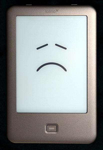 Unfassbar: Deutsche eBooks DRM-frei – außer bei Tolino