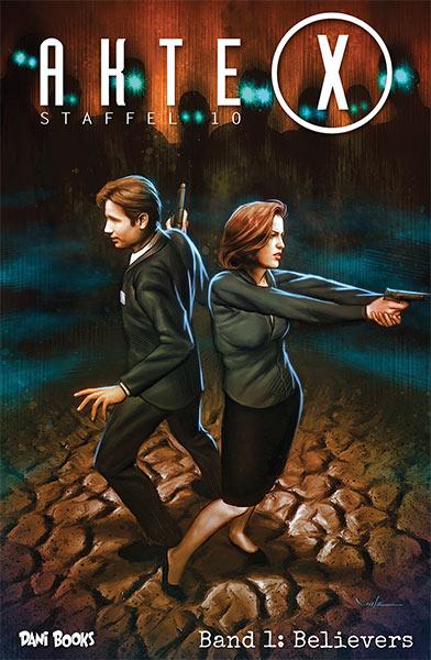 AKTE X Staffel zehn – als Comic