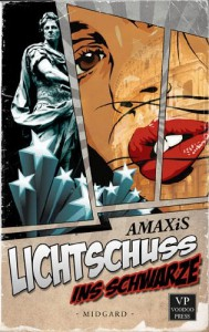 """Cover """"Lichtschuss ins Schwarze"""""""