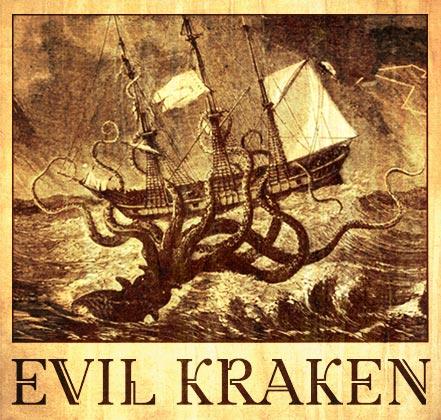 """Logo """"Evil Kraken"""""""