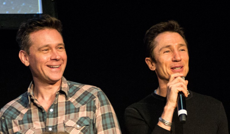 Connor Trinneer & Dominic Keating