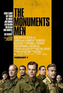 "Poster ""The Monuments Men"""