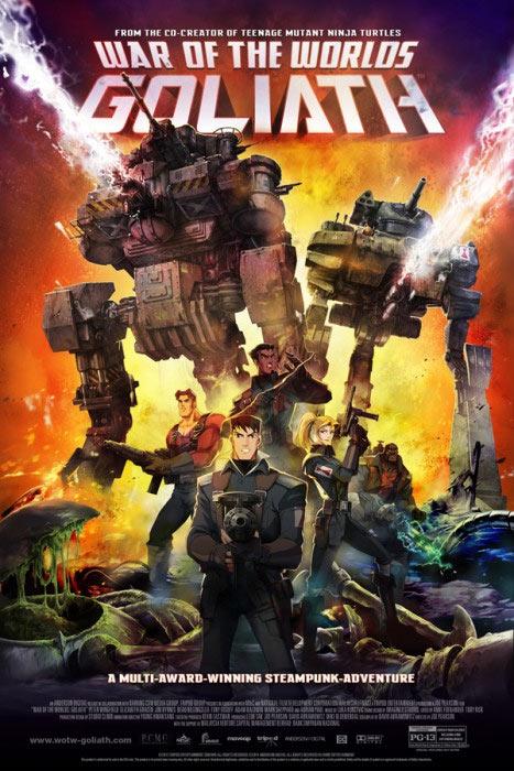 Trailer und Poster: WAR OF THE WORLDS – GOLIATH