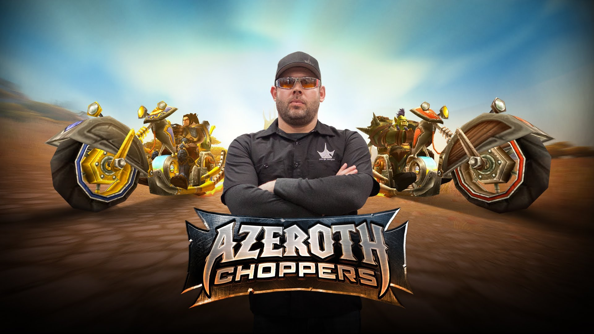 Das Motorrad zu WORLD OF WARCRAFT: Azeroth Choppers
