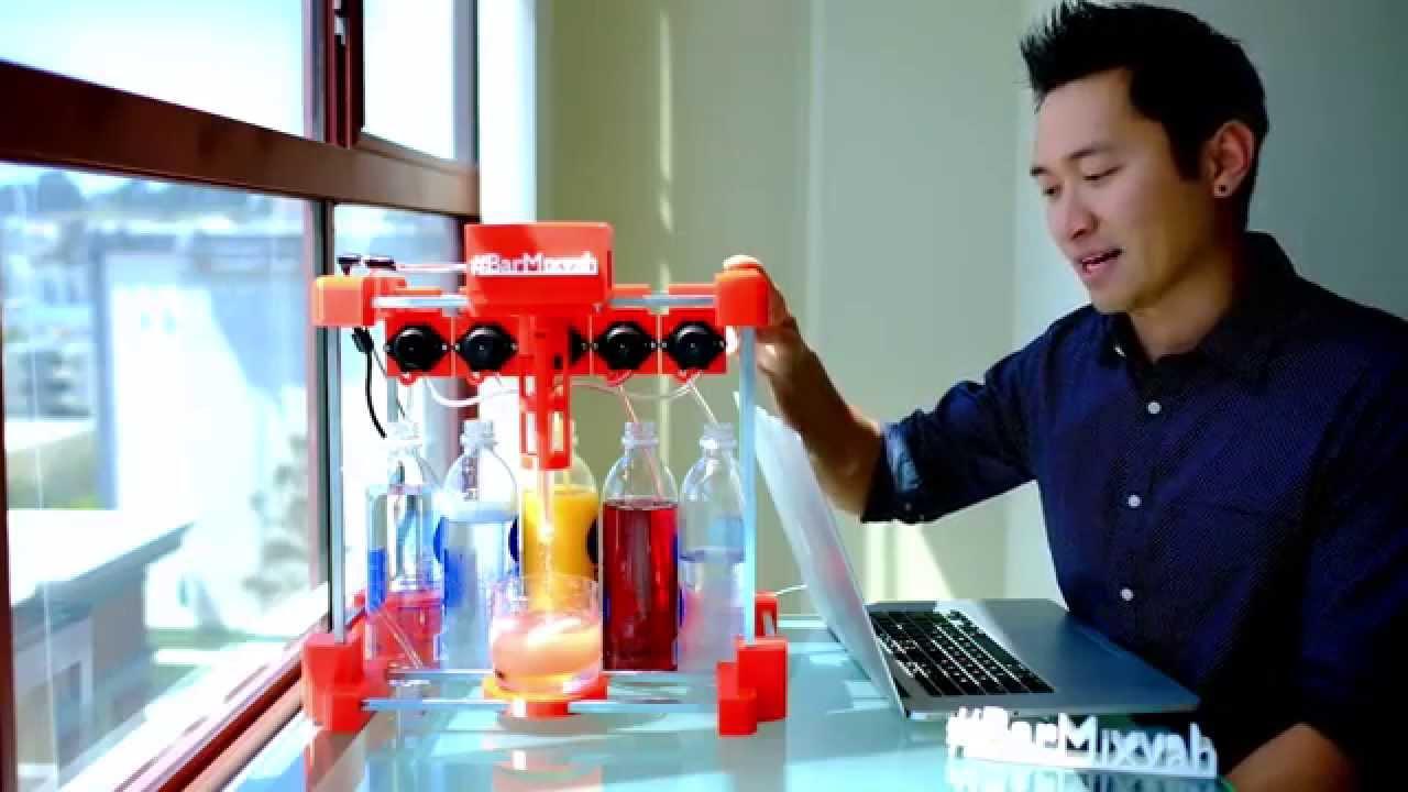 Arduino + 3D-Drucker = robotischer Barkeeper
