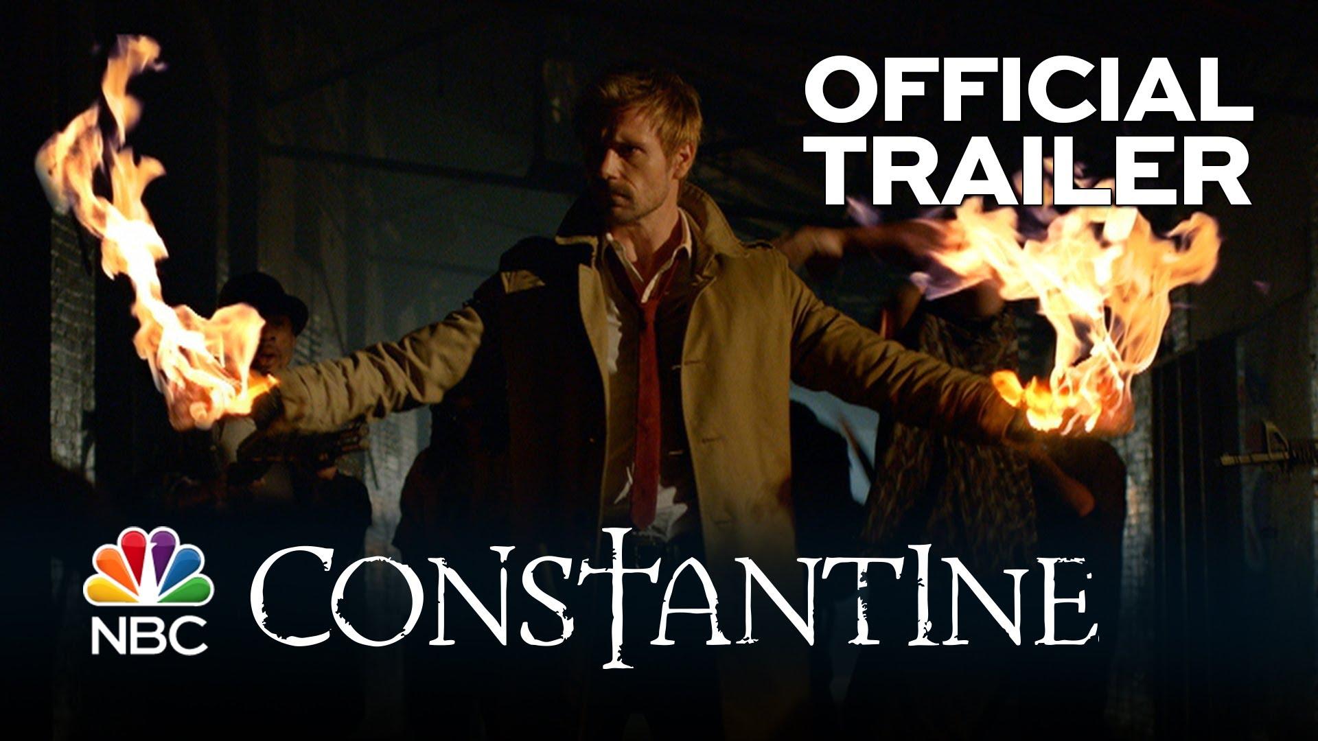 Wow! NBC zeigt CONSTANTINE-Trailer