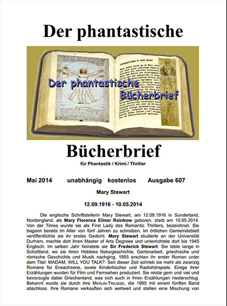 Der Phantastische Bücherbrief 607