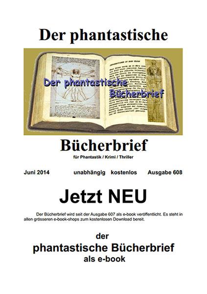 Der Phantastische Bücherbrief 608 – Juni 2014