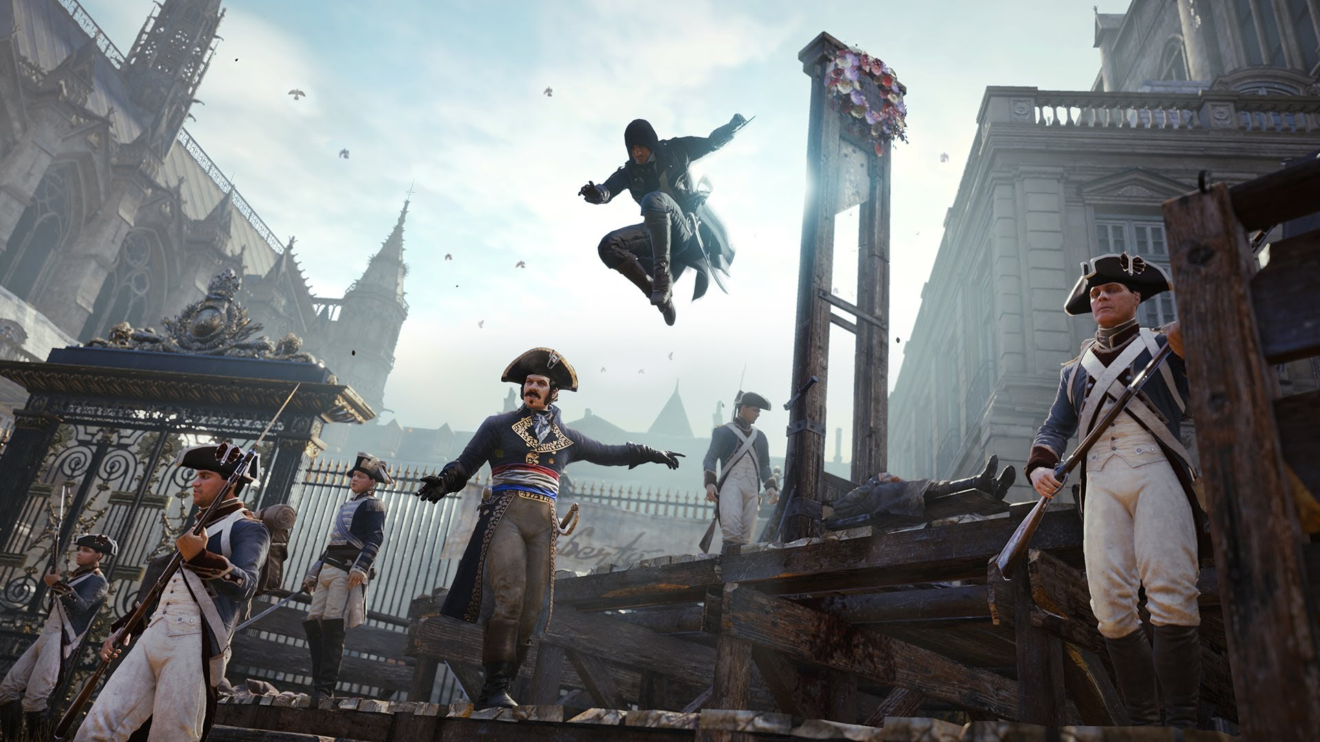 ASSASSIN´S CREED UNITY Trailer und Ingame-Videos von der E3