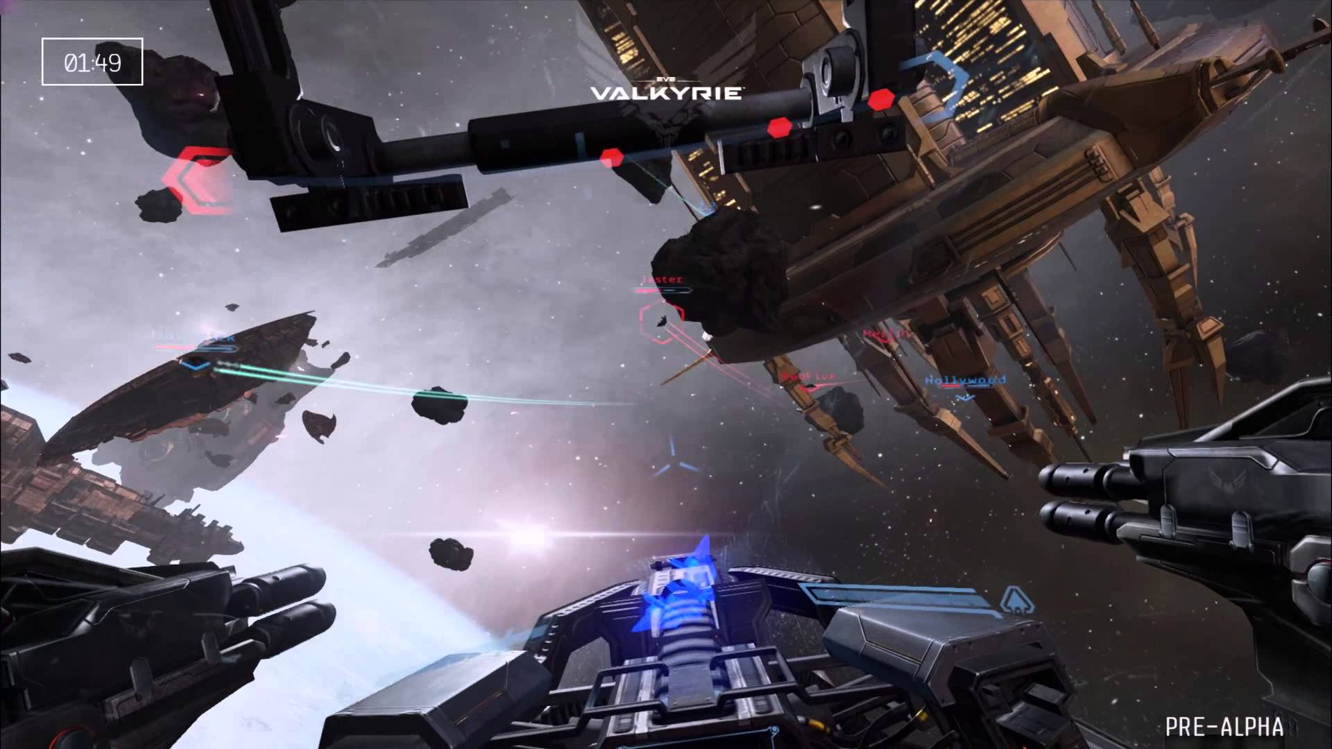 Gameplay-Trailer von der E3: EVE VALKYRIE