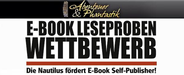 NAUTILUS: Endspurt zum E-Book Leseproben-Wettbewerb für Self-Publisher