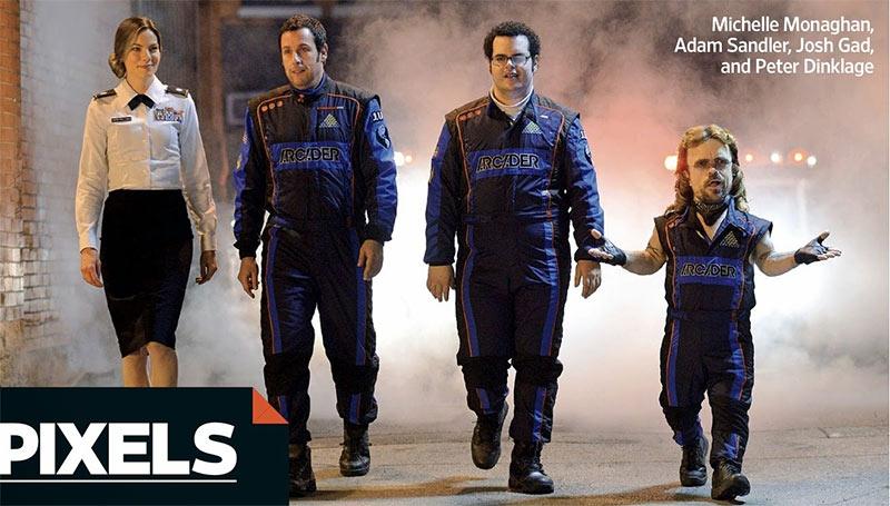 Sony Pictures kooperiert für PIXELS mit Kult-Videospielfirmen