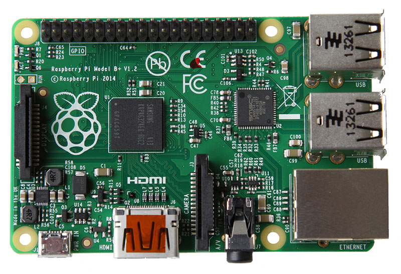 Neu: Raspberry Pi B+